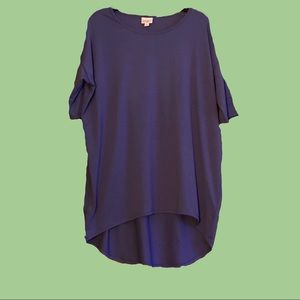 Lularoe blue-purple tunic